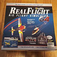 Realflight G4 flight simulator with 4 dvds and futaba