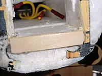 Name: stick.jpg Views: 26 Size: 703.7 KB Description: Popsicle stick added to front of fuse foam.