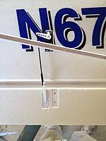 Name: cub 73.jpg Views: 124 Size: 595.8 KB Description: New aileron servo arm and horn position (left wing)