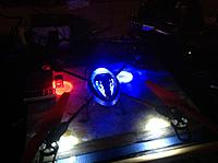 Name: image-ddf5db80.jpg Views: 112 Size: 1.07 MB Description: Blue led lights up the blue canopy perfectly.  Super pleased.   Now to add the v949 boom light leds.