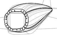 Name: bentdiivid2.jpg Views: 18 Size: 56.5 KB Description: more scribe line or  more V-notches,result with more slick curve.