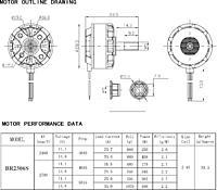 Racerstar BR2206S 2400KV/2700KV and BR2205S 2400KV/2600KV
