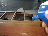 Name: IMG_20190430_074739792.jpg Views: 7 Size: 4.21 MB Description: using water to remove ripples out of the balsa sheeting