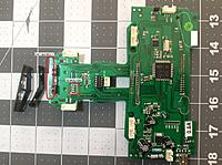 Name: Devo6S Proc Top sm.jpg Views: 192 Size: 485.3 KB Description: Devo6S Processor board, naked.  The V-shaped pieces are clipped to the bottom side to support the end.