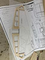 Name: D6381B95-8CA5-49E1-8A72-D2F179B27F19.jpg Views: 11 Size: 3.46 MB Description: I cut the grove at the top of the elevator so the joiner can sit into it.  To bad the glue dried before I could seat it fully ;) . Actually it was not that bad.