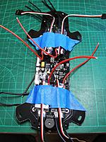 Name: str7.jpg Views: 193 Size: 584.8 KB Description: You have the option of soldering the ESCs on the top of the PDB or on the bottom, where there are another set of solder pads you can use.