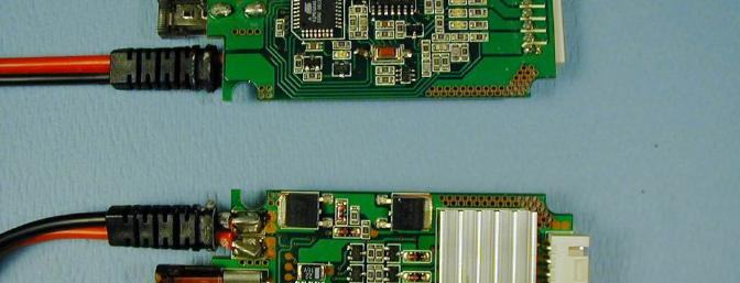 What's inside - a look at both sides of the Equinox's circuit board.
