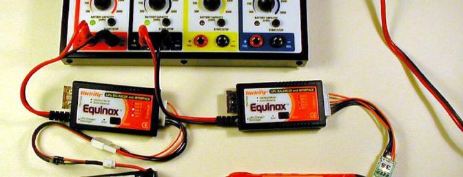 Two Equinoxes at work from the first two ports of my PolyCharge4.