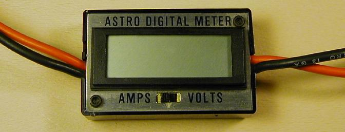 My original Astro Flight Digital test meter.