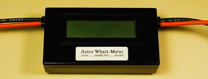 The Astro Flight Super Whattmeter. This one is an early one with just a printed sticker for a label. An indispensible tool in my shop for years.