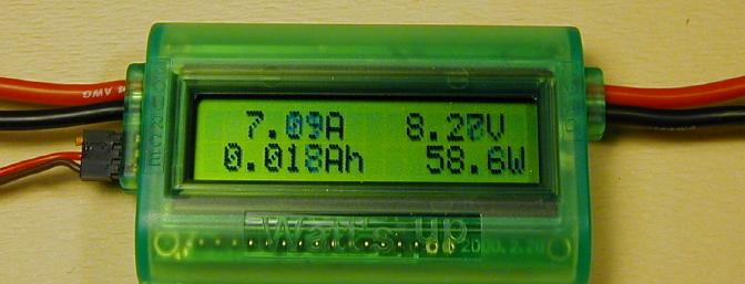 Another shot of the A/V/Ah/W display. You can see several digits are in the process of changing as I snapped the picture.