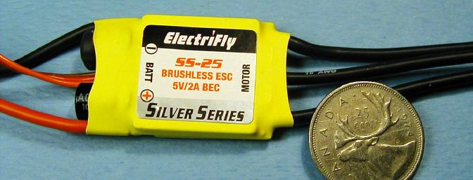 The ElectriFly Silver Series SS-25