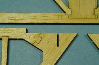 Elevator and horizontal tail joinery
