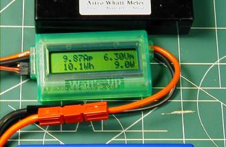 Discharge late in the second stage, limit current and voltages displayed on Watt's Up