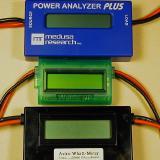 The Watt's Up with my Super Whatt Meter and my Medusa Power Anaylzer Plus.