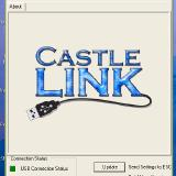 The Castle Link opening screen.