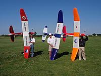 Name: Airborn 2300 at Ft. Wayne SAM contest 010.jpg Views: 217 Size: 255.2 KB Description: Left to right: Jay Burkart,  Hank Gullet,  Kent Meglemry