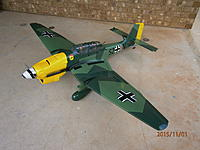 Name: Stuka JU-87R-010.JPG Views: 314 Size: 1.09 MB Description: Still Glossy here :( yuk and yes spinner was painted differently