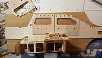 Name: 20191126_153626.jpg Views: 19 Size: 1.13 MB Description: Dry fitting the A8/A11 pieces with the structure from step 1, to see in what order things should be glued.