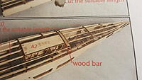 """Name: 20191210_153000.jpg Views: 21 Size: 1.30 MB Description: this """"wood bar"""" is a mystery where it comes from.  I think it is the same wood as the wing connector hard wood, but not sure.  I'll figure it when I get there."""