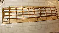 Name: 20191221_125342.jpg Views: 16 Size: 958.9 KB Description: Final built out wing also showing the placement of the aileron control wire