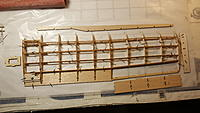 Name: 20191219_120421.jpg Views: 19 Size: 1.01 MB Description: Basic wing built out, just need to glue the leading edge and assemble the aileron