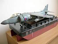 Name: DSCN1581 (Medium).jpg Views: 171 Size: 54.0 KB Description: 1/24th scale Airfix  Harrier converted to Sea Harrier.