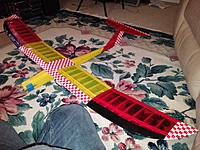 Name: 20141216_025603[1].jpg Views: 86 Size: 907.9 KB Description: One of the coolest little birds Ive ever built. Wish I hadn't parted with it. A very uniquely designed and great flying plane. Let me know If you have one for sale.....I'll take it in a heartbeat.