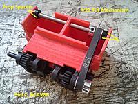 Name: V22_TilterMech1_ 002.jpg Views: 24 Size: 237.4 KB Description: The Jackshaft install and hookup . (1 side shown)