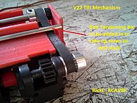 Name: V22_TilterMech1_ 005.jpg Views: 26 Size: 187.5 KB Description: Added Timing Belt Tensioner Rod . (3mm)
