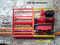 Name: TiltMech_Update_Feb1_ 005.jpg Views: 24 Size: 259.8 KB Description: The tilt mechanism viewed from the underside leading edge of the wing section .