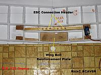 Name: Wing_008.jpg Views: 65 Size: 266.6 KB Description: The wiring header and wing bolt plate .