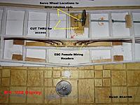 Name: Wing_011.jpg Views: 60 Size: 245.3 KB Description: ESC header and wiring . Servo wheel location .
