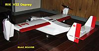 """Name: OSPREY_004.jpg Views: 122 Size: 132.6 KB Description: A """"Sort Of Scale"""" flight TESTING platform . As I thought , this model deserved to get the full attention that it warranted . Turned out AWESOME !  3 pounds 6 minus the battery as it sits ."""
