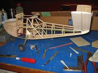Name: Bee 89.jpg Views: 142 Size: 89.1 KB Description: Tail now fixed in place and underside sheeted