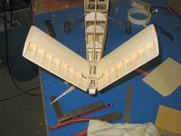 Name: Bee 90.jpg Views: 128 Size: 73.9 KB Description: Tail linkage ensconced in rear fuselage.