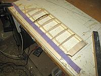 Name: dxi 66.jpg Views: 203 Size: 88.1 KB Description: steel wire and masking tape as guides to TE sanding..