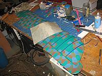 Name: dxi 130.jpg Views: 151 Size: 108.4 KB Description: Solartex rib tapes being applied..