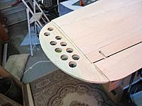 Name: he111 69.jpg Views: 190 Size: 60.8 KB Description: Sheet balsa core with lightening holes...