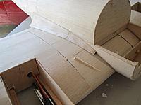 Name: he111 76.jpg Views: 186 Size: 63.2 KB Description: sheet fillet in place plus cross-grain front fillet bits..