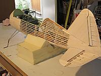 Name: liz 15.jpg Views: 479 Size: 80.2 KB Description: Tail-cone fitted and tail parts checked for fit..