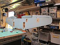 Name: he111 173.jpg Views: 106 Size: 87.7 KB Description: Underside with ailerons and servos fitted...