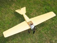 "Name: Top view.jpg Views: 496 Size: 81.6 KB Description: Big span (36""), short fuselage (24"")"