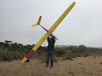 Name: IMG_2872 Richard Holding Up Big Glider.jpg Views: 27 Size: 553.0 KB Description: