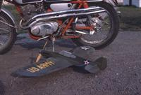 Name: Rons Motorcycle & P-40.jpg