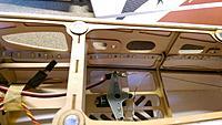 Name: IMAG1669.jpg Views: 83 Size: 394.8 KB Description: Nice horn on the rudder servo, all installed