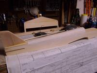 Name: 100_7954.jpg Views: 245 Size: 52.2 KB Description: Fuselage - lots of solid balsa that needs shaping in these older kits