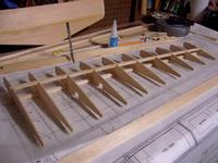 Name: 100_7996.jpg Views: 207 Size: 83.9 KB Description: Wing started.  One side is mostly built now, will post a pic shortly