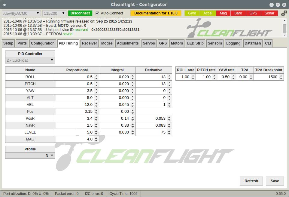 Betaflight Flight Controller Firmware Discussion Thread