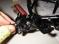 Name: IMGP0543.jpg Views: 110 Size: 69.7 KB Description: Detalle del tercer eje... y evidencia de los gajes del oficio: tengan cuidado con sus xactos!!!